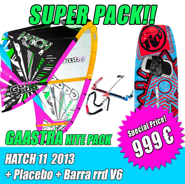 Gaastra - HATCH 11 2013 + Barra RRD V6 + Placebo 999€