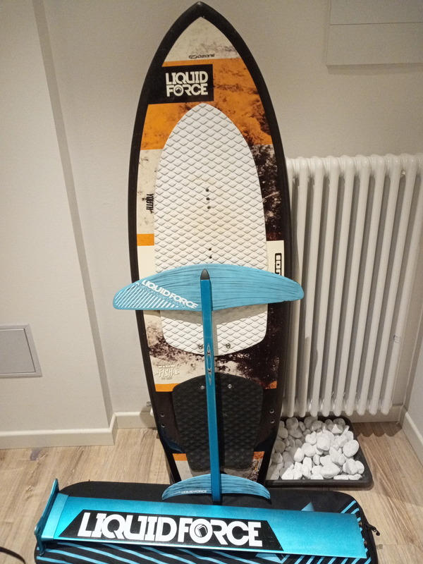 Liquid Force - Hydrofoil happy foil completo (Kiteboards) on