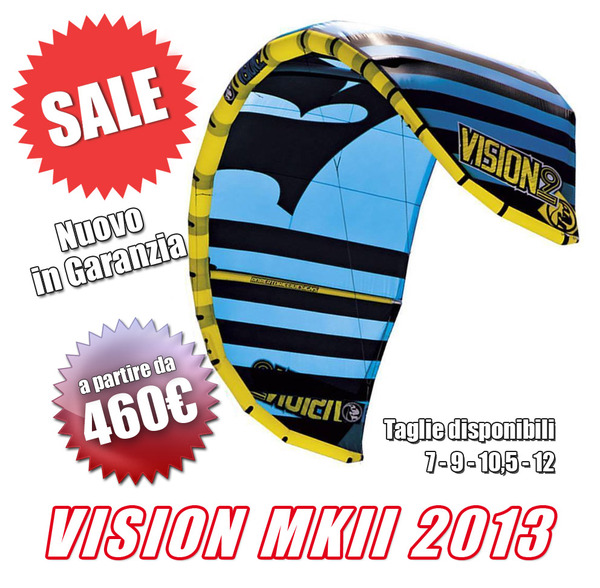 Rrd - VISION mk2 2013 nuovi ! Da 460€