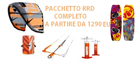 Rrd - PACCHETTO RRD NUOVO VISION + GLOBAL BAR V7 +TAVOLA PLACEBO +PUMP STATER PACK