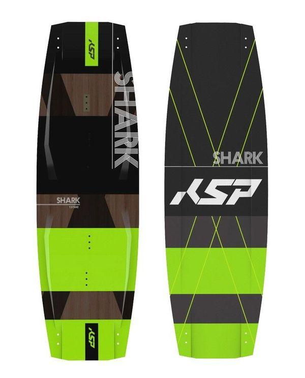 KSP - Tavola twintip freestyle/freeride Shark 135-137-139-141 2018 Completa