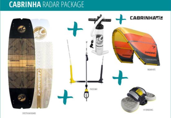 Cabrinha - radar+spectrum