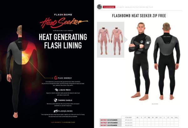 Rip Curl - Flashbomb Heat Seeker 5 3 mm Black tg S