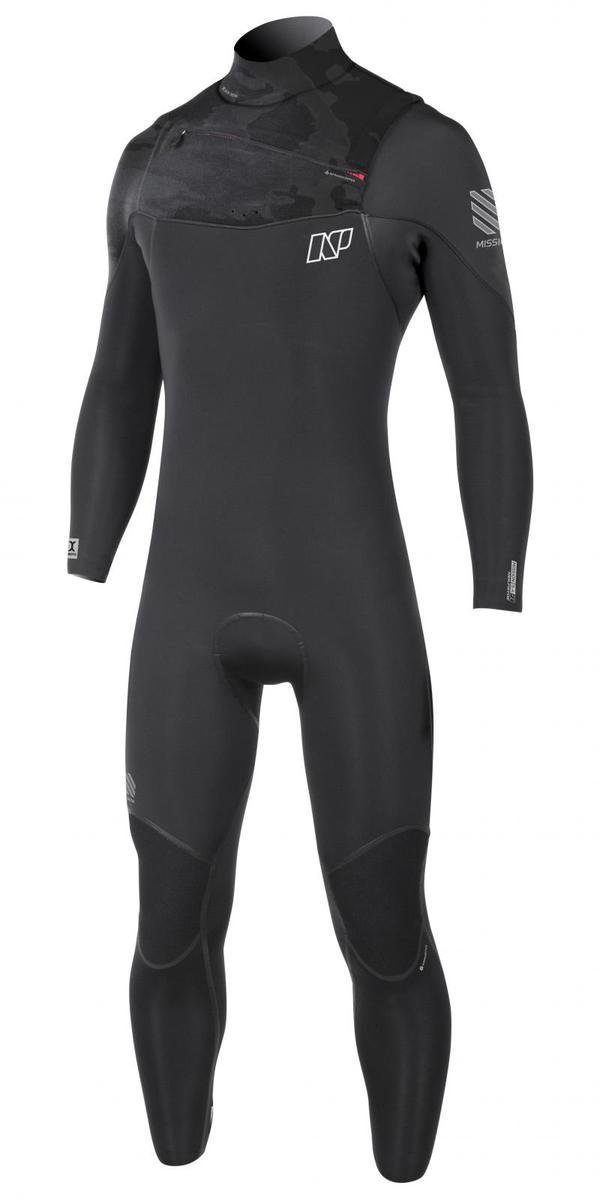 Neil Pryde - 18 MISSION Fullsuit 5/4/3 GBS Front zip Tg 46