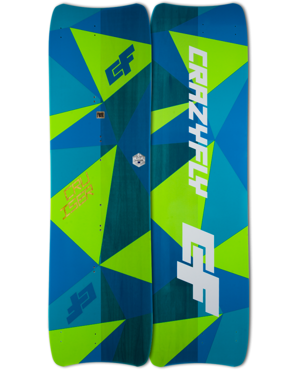 Crazyfly - CRUISER LW 160X44 2018 NUOVA completa di all roundbinding
