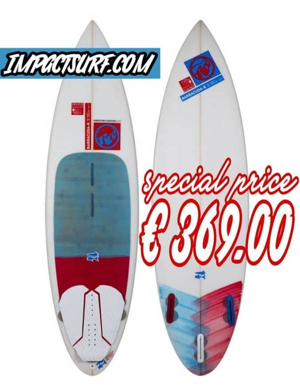 Rrd - Tavola Kite Barracuda K - 6'0'' SUPER OFFERTA! €369
