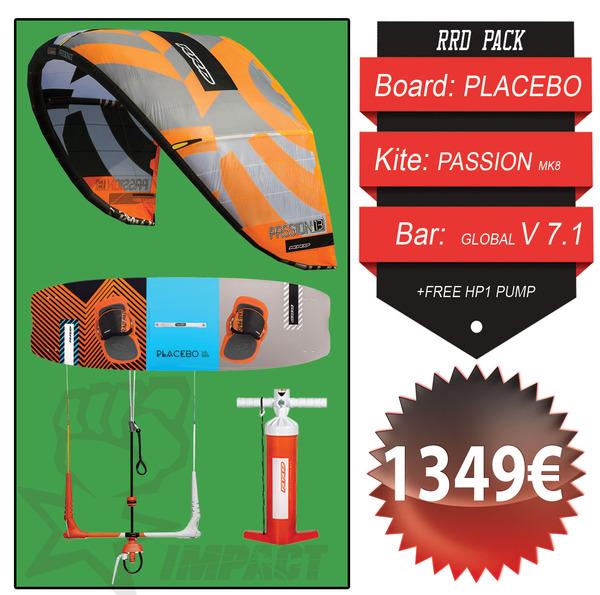 Rrd - KITE PACK Passion Mk8 + Placebo V6 + Global Bar V 7.1 + Free Pump HP1