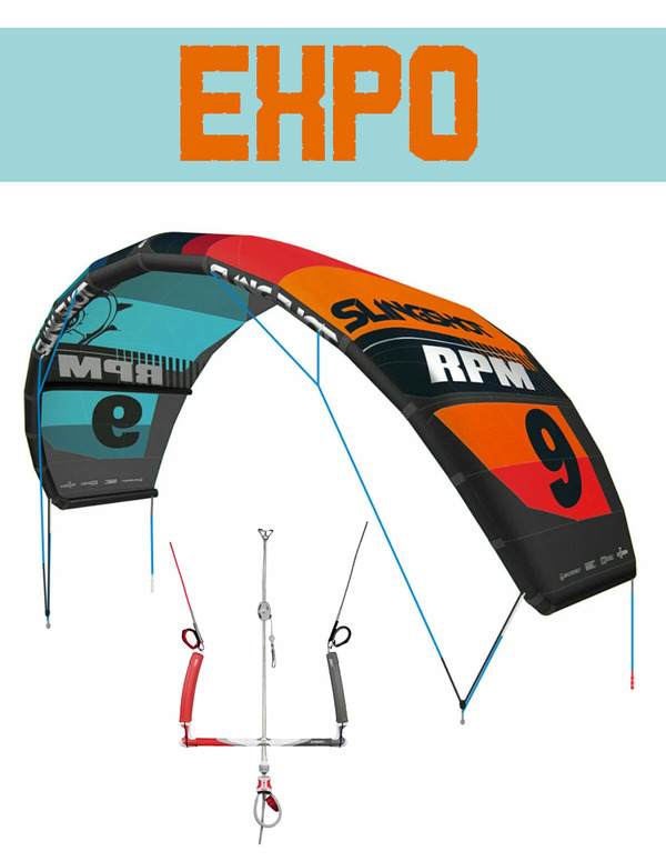 Slingshot - RPM 11mt 2019 EXPO con barra Compstick Sentinel Safety 2019 EXPO