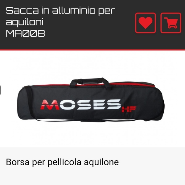 Moses - Moses sacca hydrofoil