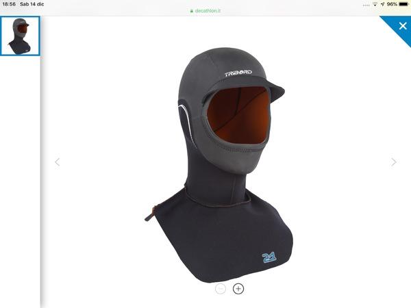 Tribord - cappuccio neoprene 2 mm