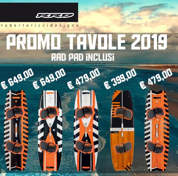 Rrd -  Promo 2019 Tavole Twintip *SPEDIZIONE GRATUITA IN ITALIA*