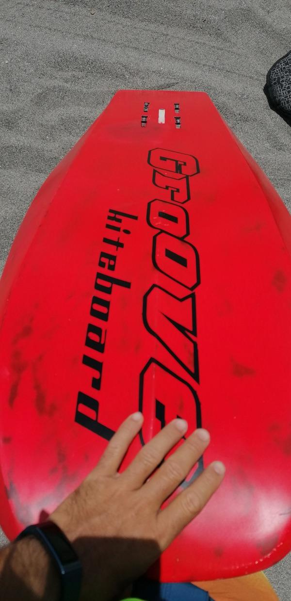 Groove - Custom full carbon race hydrofoil