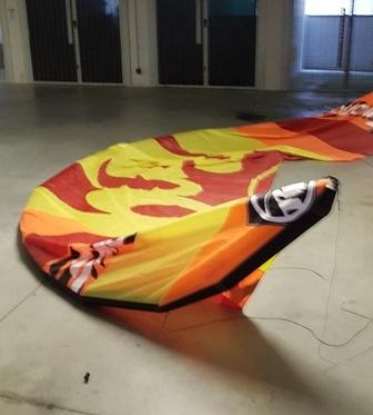Rrd - Emotion 17 strutless hydrofoil wave light wind