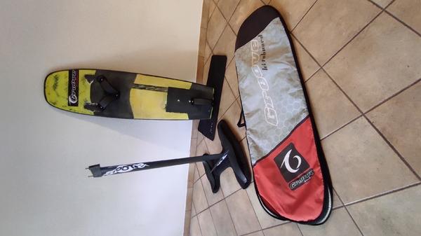 Groove - Hydrofoil completo Radical V1 + Spots tuna