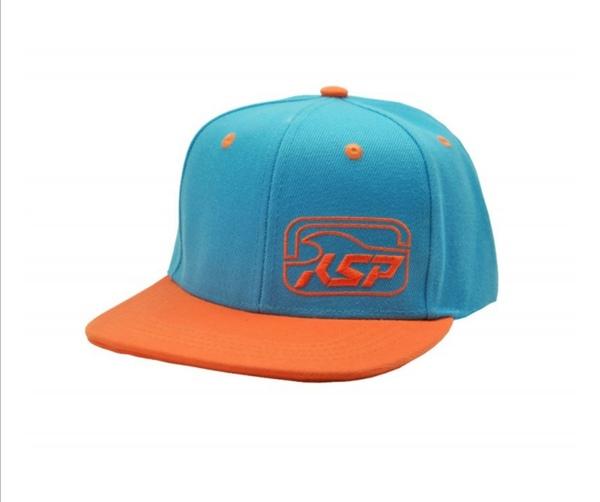 KSP - Cappello KSP azzurro e arancio