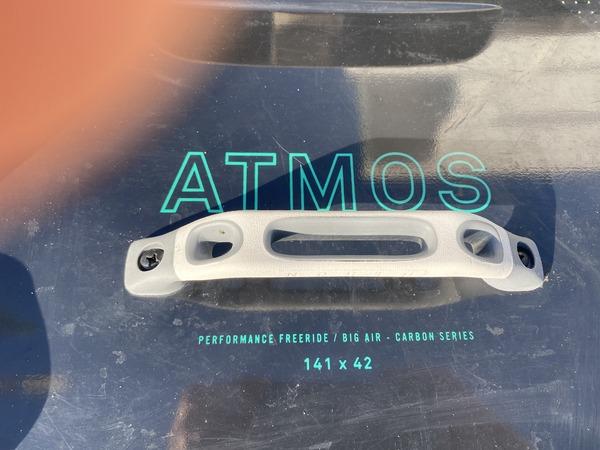 North - Atmos carbon
