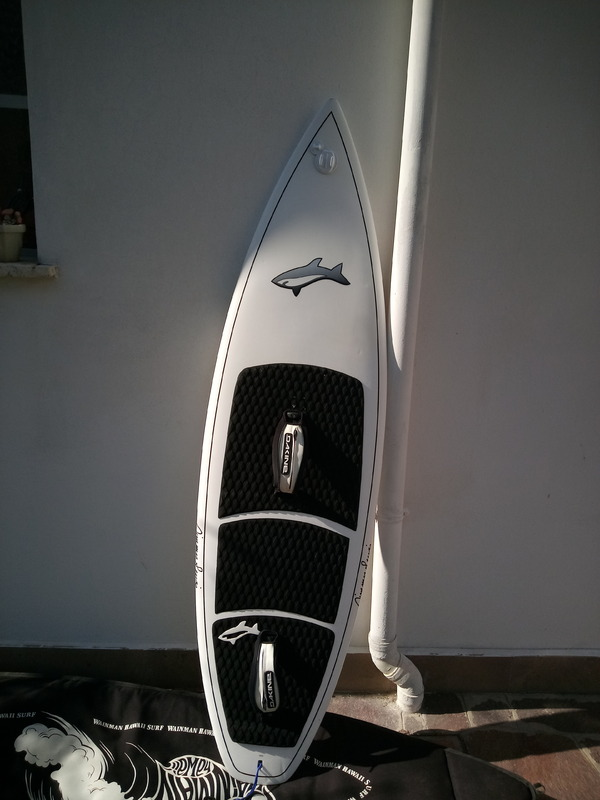 Jimmy lewis - WIDE WAVE 6  CON STRAPS E PINNE