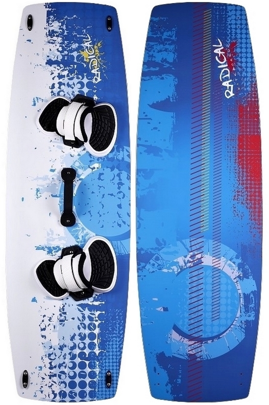 Radical Kiteboards - SUNDOWN-Edition, CARBON, 135x42cm
