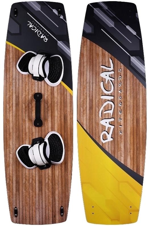 Radical Kiteboards - CARBON, RAYON, 135x42cm