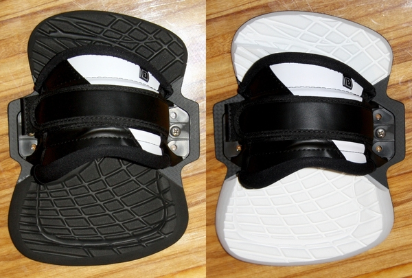Yeti - Kiteboard Binding (Pads + Straps) COMFORTABLE, size S