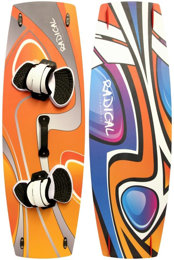 Radical Kiteboards - Freeride- and Lightwindboard, Carbon, 145x45cm