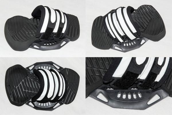 Yeti - COMBO Q4 Kiteboard Binding Set - Footpads + Straps