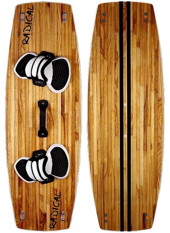 Radical Kiteboards - Wood-Edition Kiteboard, 135x42cm