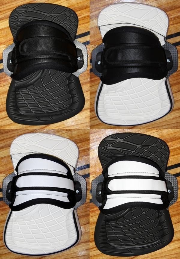 Yeti - Twintip binding (pads + straps) COMFORTABLE size M/L