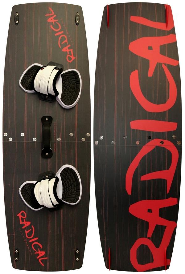 Radical Kiteboards - Split kiteboard (split board / 2 pcs. Kiteboard), 135x42