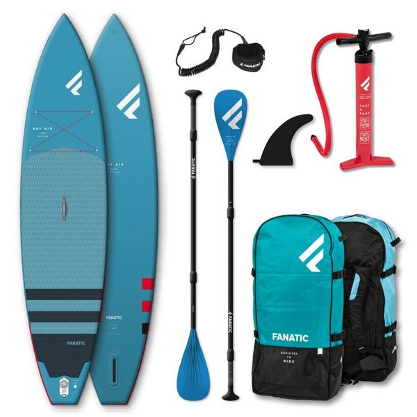 Fanatic - iSUP Package Ray Air/Pure 11.6x31 NUOVO