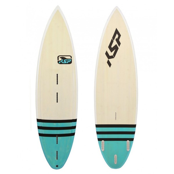 KSP - Waveboard Tavola surfino 3 misure 5'8''-5'10''-6' Completa per Wave