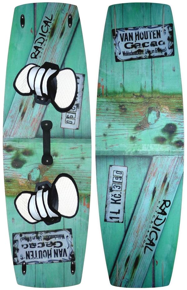Radical Kiteboards - Lightwind- / Freeride-Board, Carbon, 145x45cm