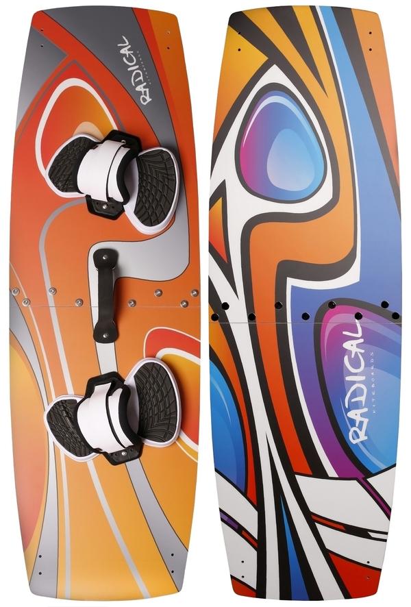 Radical Kiteboards - Split-Kiteboard / Splitboard, 138x44cm