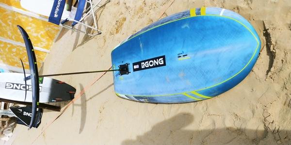 altra - Gong Wing Zuma 6.6 + hydrofoil Allrise Alu XL