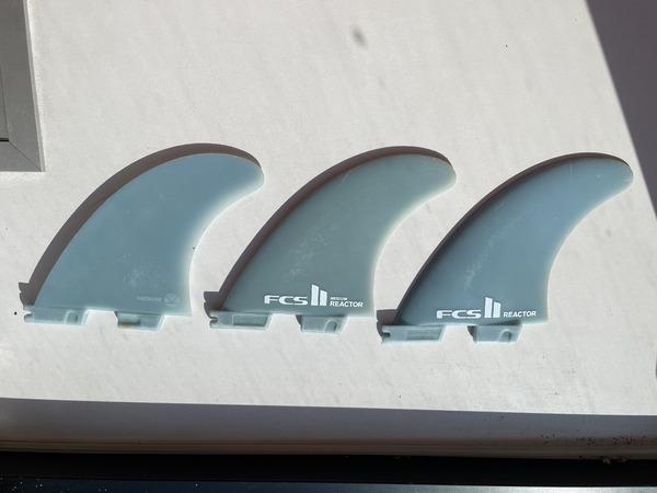altra - FCS FCS II REACTOR TRI FIN SET GLASS FLEX M