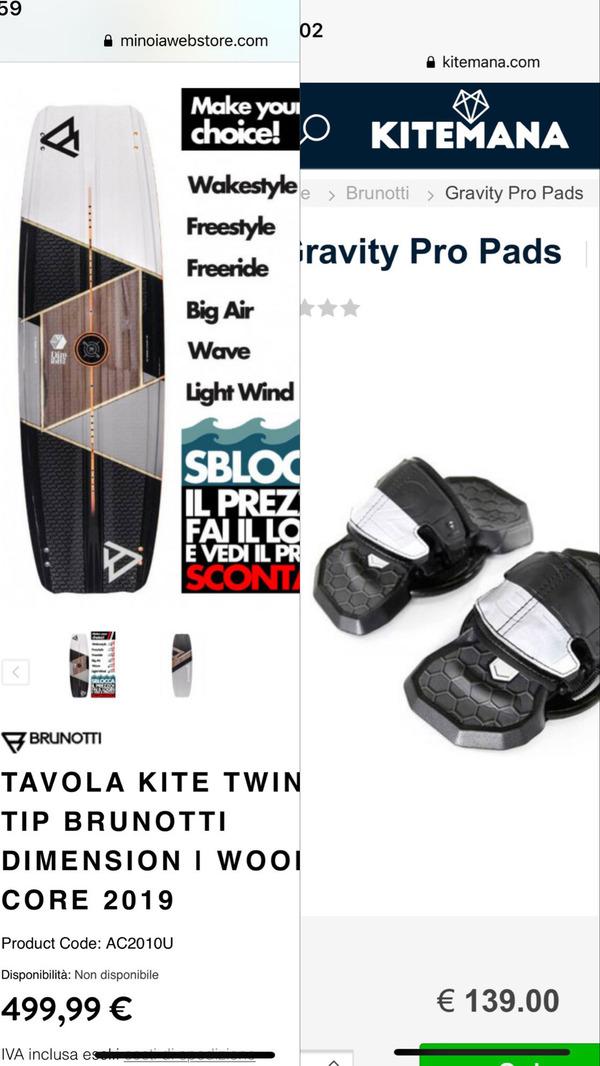 Brunotti - Dimension + pads gravity pro