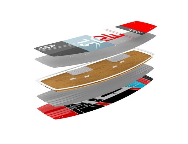 KSP - Tavola twintip freeride Slide 135-140-145 2018 Completa