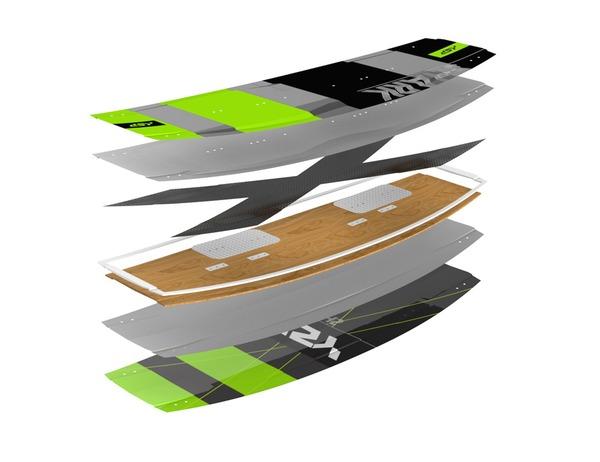 KSP - Tavola twintip freestyle/freeride Shark 135-137-139-141 2019 Completa