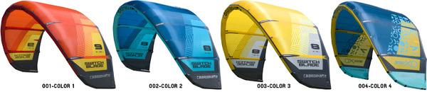 Cabrinha - Switchblade 2018 - tutte le misure disponibili