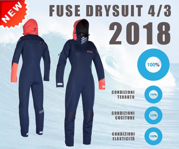 Ion - Muta per Donna Fuse Drysuit 4/3 2018