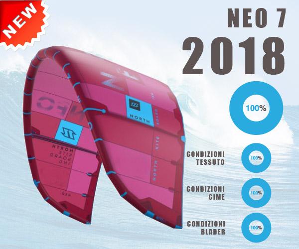 North - North Neo 5 rosso 2018