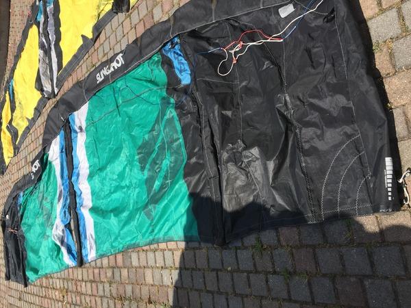 Slingshot - RPM 8-10-12 da riparare, 250 euro 3 kite (2013-2011)