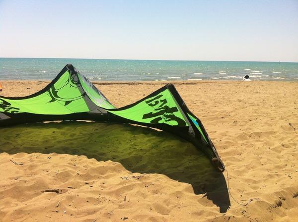 Slingshot - kite rally 2014 10 m, tavola crisis