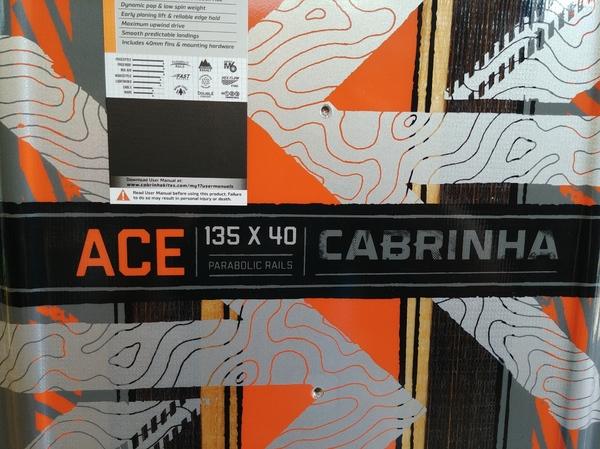 Cabrinha - Ace 135 x 40
