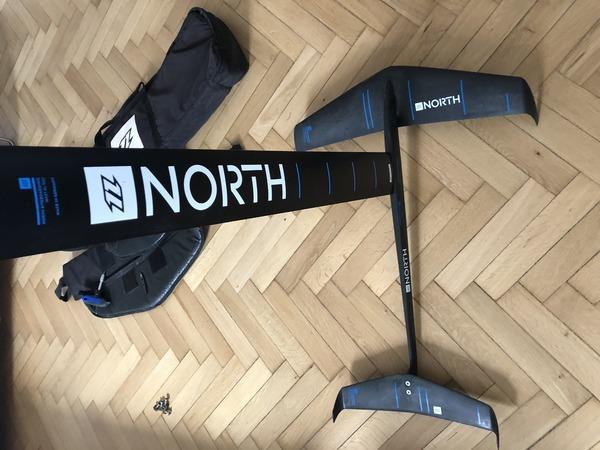 North - Hydrofoil Speedster Combo Piantone 90 cm Carbon Compound 2018