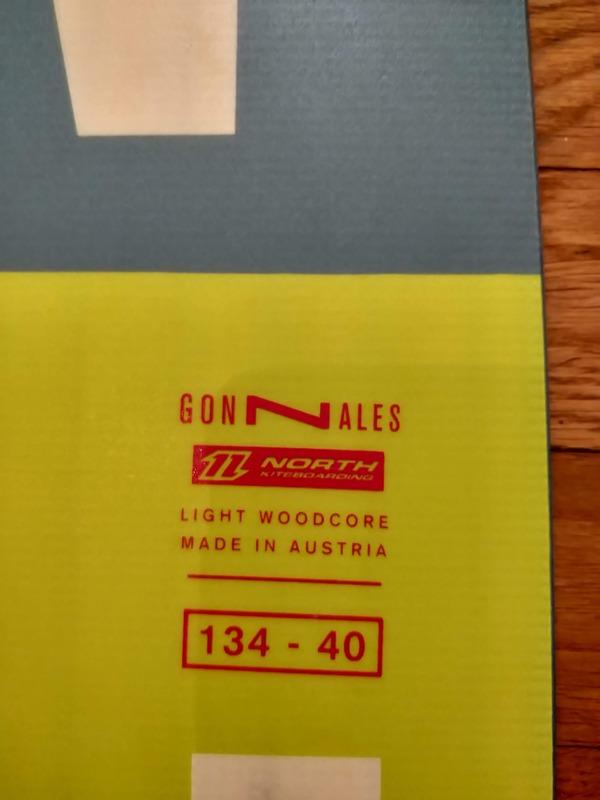 North - Gonzales 134 - 40  Light Woodcore
