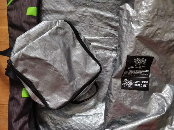 Ion - Sacca da viaggio grande con porta oggetti annesso (lung:147cm x larg:45cm x h:33cm)