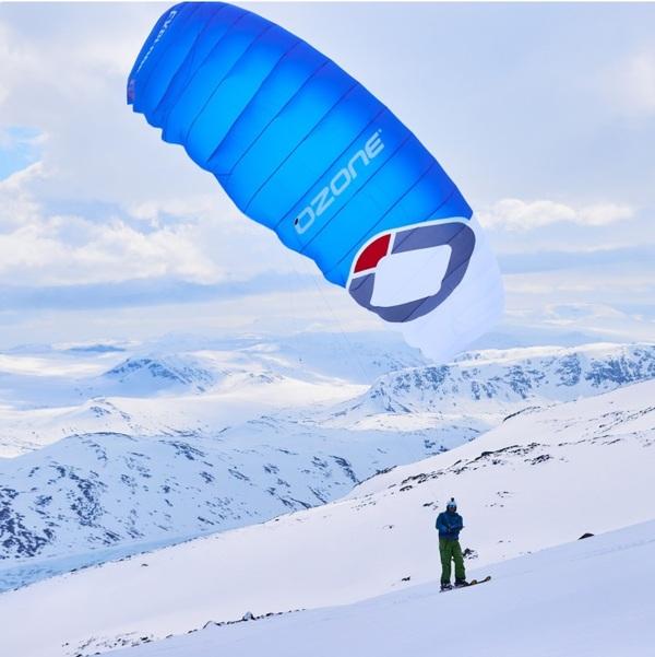 Ozone - Explorer V2 snowkite barra contact snow V4