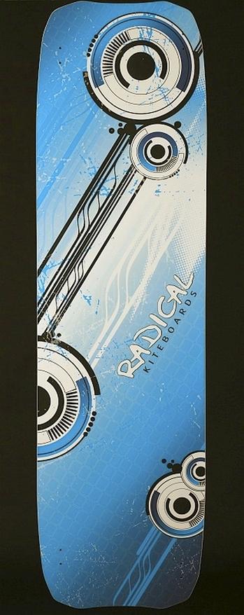 Radical Kiteboards - Light wind kiteboard Carbon, 160x45
