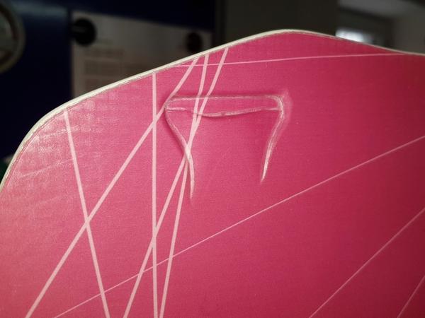 Radical Kiteboards - Light-wind kiteboard, Carbon, 160x45, 2nd choice